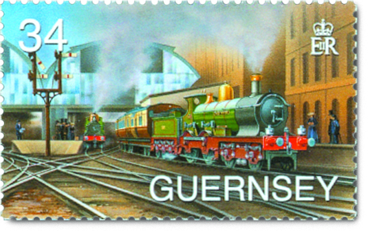 Brunel Bicentenary Stamp for Guernsey