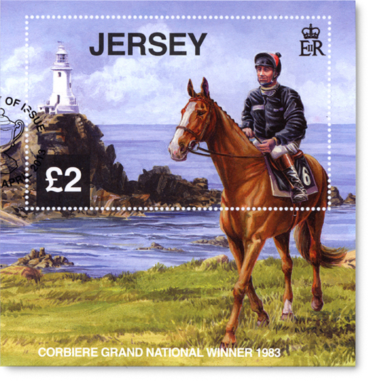 Jersey's Corbiere £2 Stamp