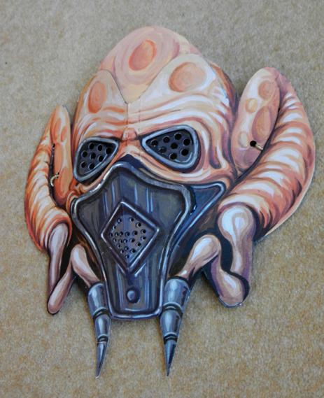 'Jedi Master Plokoon Mask'