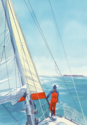 'Sailing in the Hebrides'