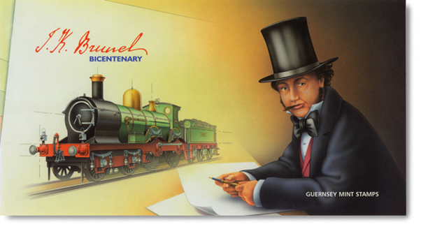 Guernsey's Brunel Presentation Pack Cover