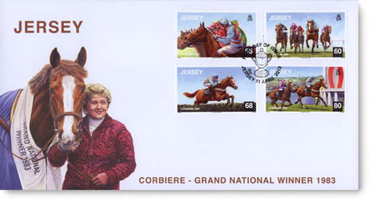 Jersey's Corbiere First Day Cover