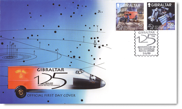 Gibraltar First Day Cover