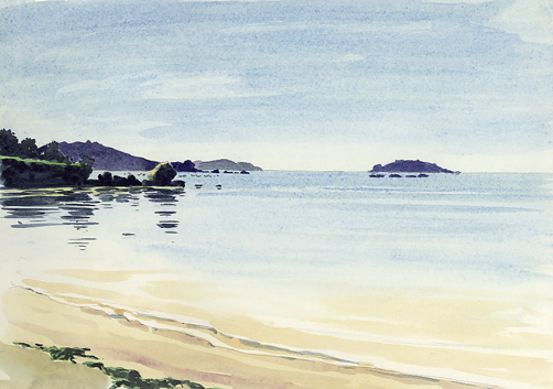 'An Isles of Scilly Sketchbook'