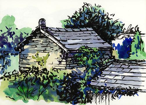 'Sedburgh Rooftops'
