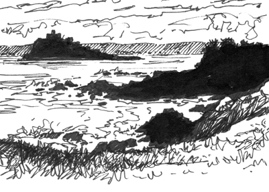 'A little more sketching in Cornwall'