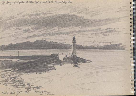 'Rudha Nan Gall Lighthouse'