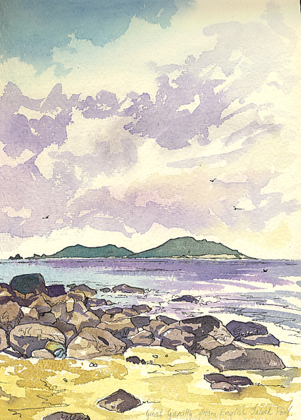 'Sketching around St Martins & the Isles of Scilly'