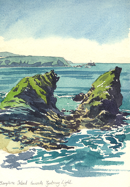 'Sketching around Cornwall'