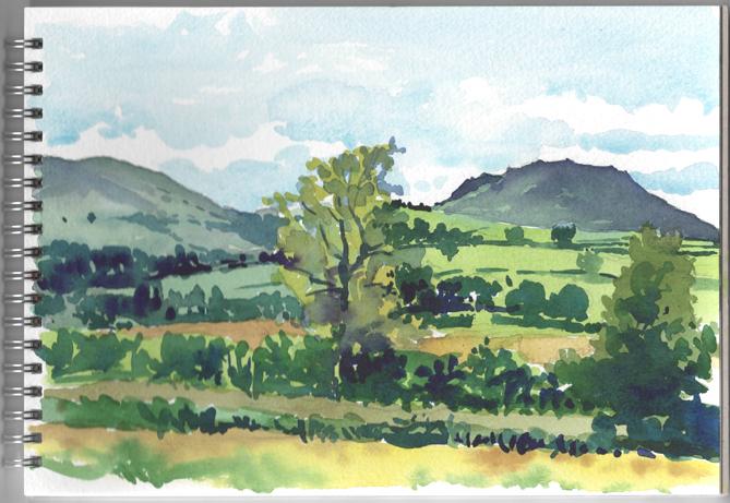 'Caer Carradoc and Willstone Hill'