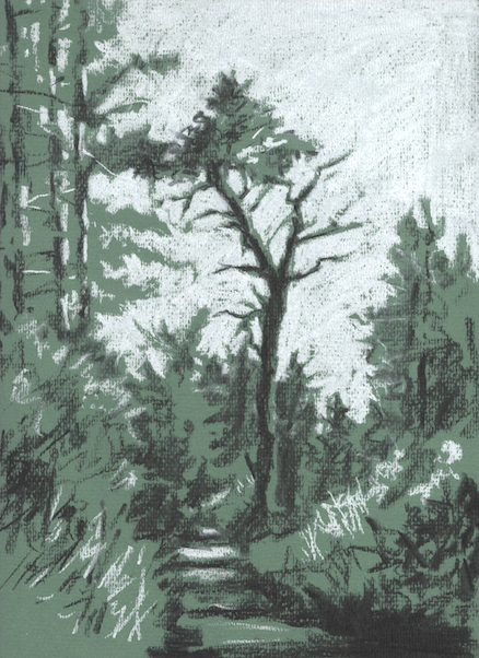 'Wooded Path'