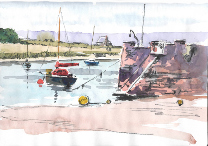'Sketching Workshop in Topsham'