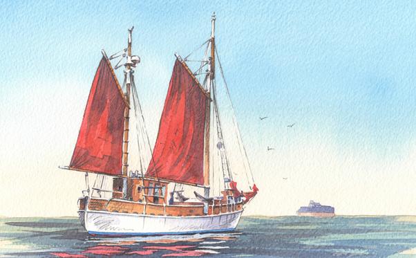 Ursula - sailing boat