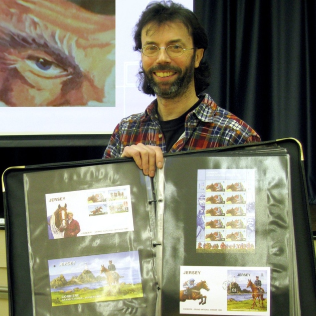 Lyme Regis Stamp Talk write-up in Midweek Herald