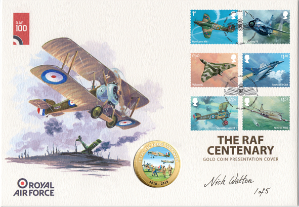 Westminster Limited Edition Covers – 'RAF Centenary'