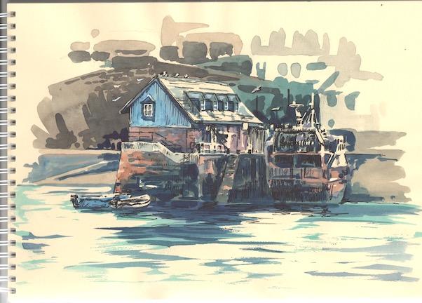 'Mevagissey Harbour'