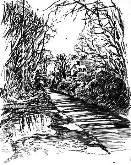 'The Lunchtime Sketches – Around East Devon'