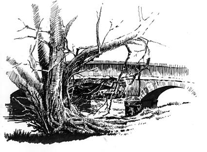 'Otterton Bridge'