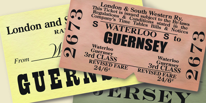 Waterloo to Guernsey tickets