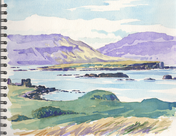 Sketches on the Isle of Mull