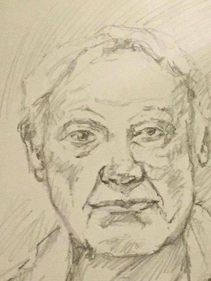 Pencil Sketch Portrait
