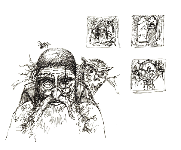 Early sketches of Merlyn