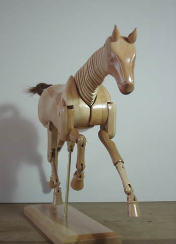 artist's wooden horse for drawing from