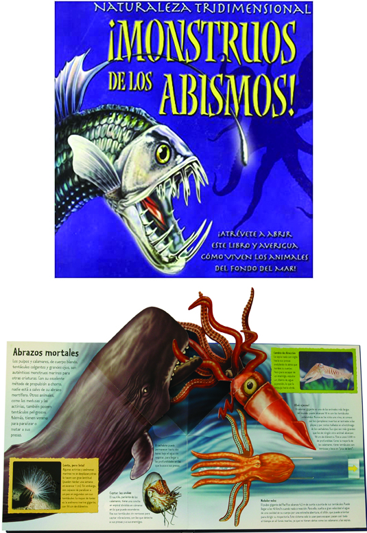 Viperfish on a Book Cover.
